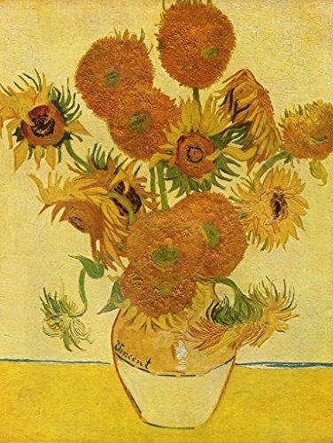(Lais Jigsaw Vincent Willem Van Gogh - Still Life with Sunflowers 200 Pieces)