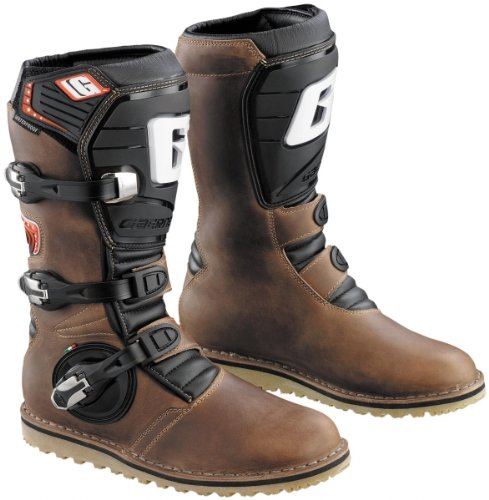 Gaerne Mens Balance Oiled Dual Sport Motorcycle Boots Brown 11 2522-013-11