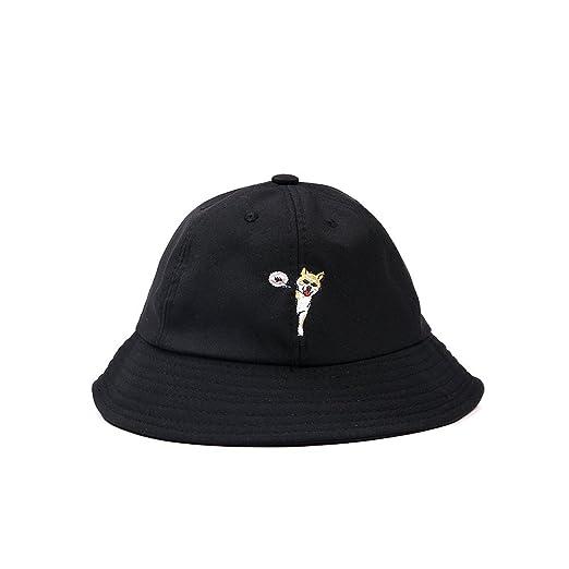 b9f4a736462 SUMBAGO Unisex Summer Fishing Hat Embroidery Cut Dog Bucket Hunting Sun Hats  for Boys Girls (