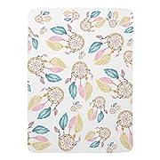 Zazzle Watercolor Pastel Boho Dreamcatcher Pattern Baby Blanket