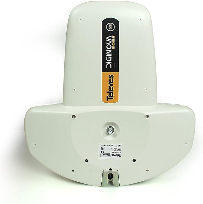 Televes DigiNova Boss UHF/VHF Antena – Tecnología Boss con Filtro LTE