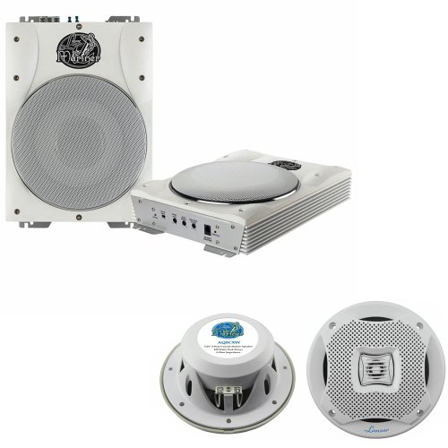 Lanzar Marine Woofer Speaker Package