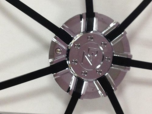 DZ 104 CAP CHROME WITH BLACK INSERTS FOR 22 INCH WHEEL by Z.D