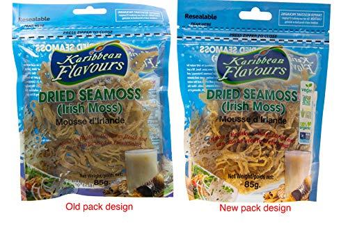 - Premium Irish Moss Superfood (2 Pack) 2 x 3 Ounce - Wildcrafted - Non GMO - Vegan - Raw