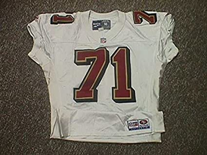 size 40 994c9 90ca9 Daryl Price San Francisco 49ers 1996 Game Worn Jersey at ...