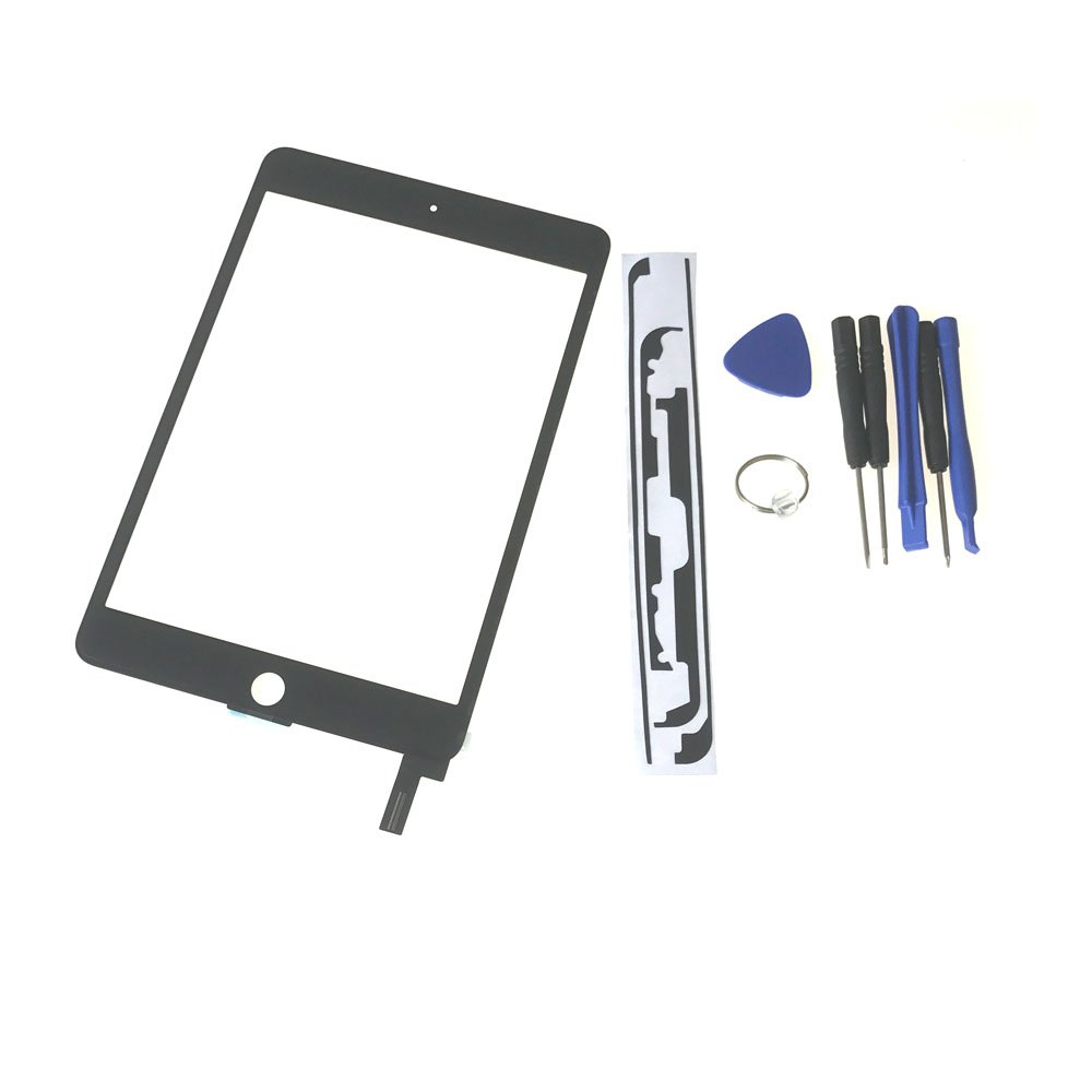For Ipad Mini 4 Touch Screen Glass Lens Replacement -New OEM Touch Screen Glass Lens Replacement For Ipad Mini 4,Touch Screen Glass Panel Repair Part For Ipad Mini 4 Black Tools High-Resistant