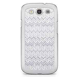 Chevron 6 Samsung Galaxy S3 Transparent Edge Case - Chevron Collection