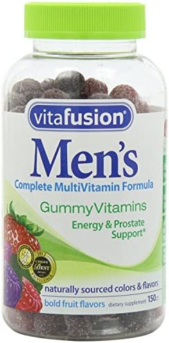Vitafusion Men s Gummy Vitamins, 150 Count Pack of 3