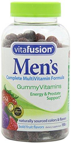 De Vitafusion hommes Gummy Vitamins, 150 Count (pack de 3)