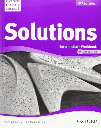 Solutions. Intermediate. Workbook and Audio CD Pack (Miscellaneous) - 9780194553674 (Solutions Second Edition)