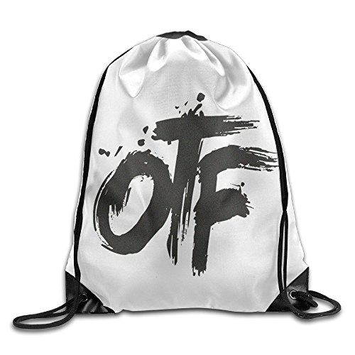 Price comparison product image Chocy Lil Rapper Durk OTF Only The Family Tour White Backpack White