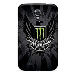 Protection Case For Galaxy S4 / Case Cover For Galaxy(monster Army Logo)