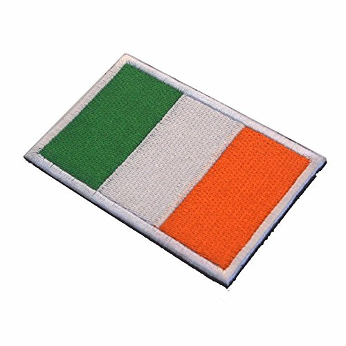 KingNew Embroidery Badge Ireland National Flag Military for sale  Delivered anywhere in USA