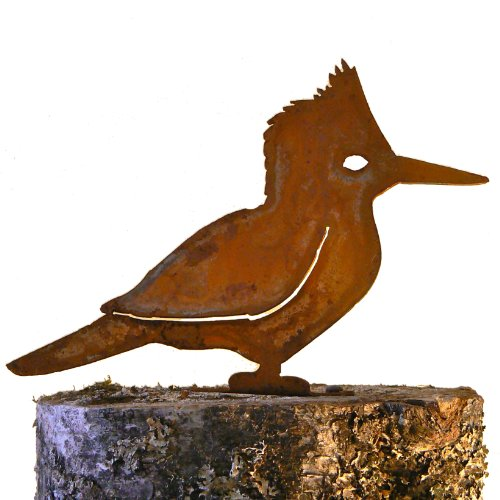 elegant-garden-design-kingfisher-steel-silhouette-with-rusty-patina
