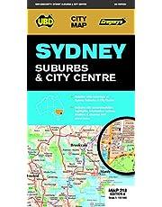 Sydney Suburbs & City Centre Map 218 9th ed