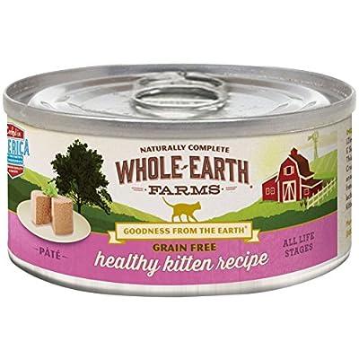 Merrick Whole Earth Farms Grain Free Wet Cat Food - Real Healthy Kitten - 2.75 Oz - 24 Pk