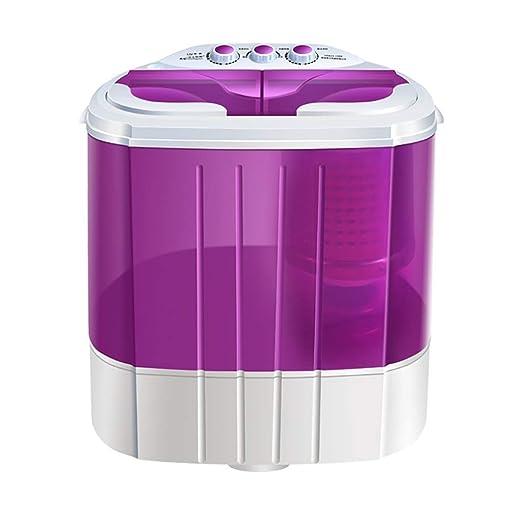 BHDYHM Lavadora portátil Mini Lavadora compacta Lavado de ...