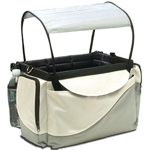 PetSafe Solvit Deluxe Tagalong Bicycle Basket, Dog Carrier for Bikes, Best for Dogs Up to 13 lb.