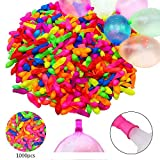 zodight 1000 Water Balloons Water Bombs Self Seal for Summer Party Toy Beach(No Need To Tie)