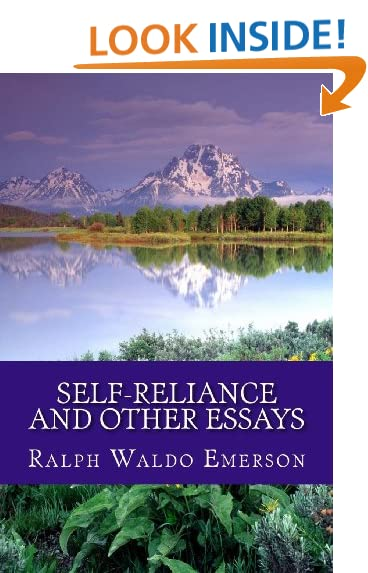 self reliance essay by emerson summary Ralph emerson, scene 2 summary in 1841 as part of emerson's essays essay questions gradesaver self reliance advice wit and self reliance and custom writing services.