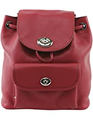 COACH Womens Mini Turnlock Tie Rucksack