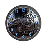 CafePress – Old Steam Engine – Unique Decorative 10″ Wall Clock Review