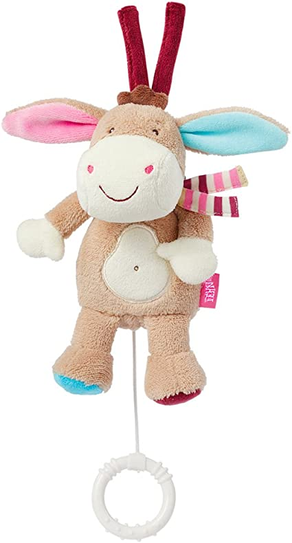 BabySun Monkey Donkey Attache Sucette Rouliboules Ane