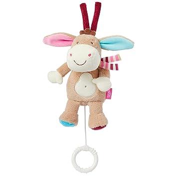 Monkey Donkey Fehn - Peluche musical de cuerda, diseño burro: Amazon.es: Bebé