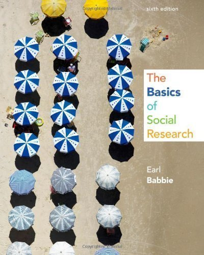 Download The Basics of Social Research by Babbie, Earl R. 6th (sixth) (2013) Paperback pdf epub