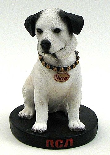 RCA Bobble Head Dog - Vintage Unique Victrola Reproduction Nipper (Retirement Cookie Bouquet)