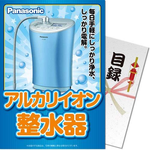 【パネもく!】Panasonic アルカリイオン整水器(目録A4パネル付) B07MT9L31Y