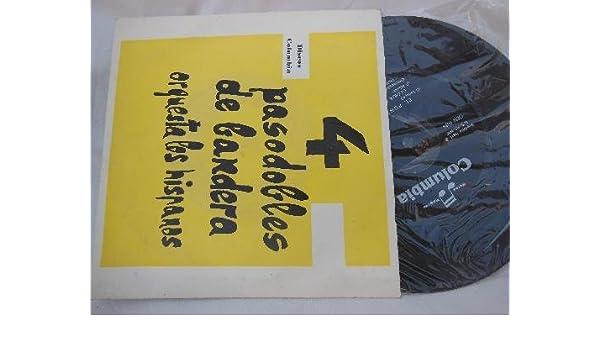 Antiguo Vinilo Single - Old Vinyl Single : ORQUESTA LOS HISPANOS ...