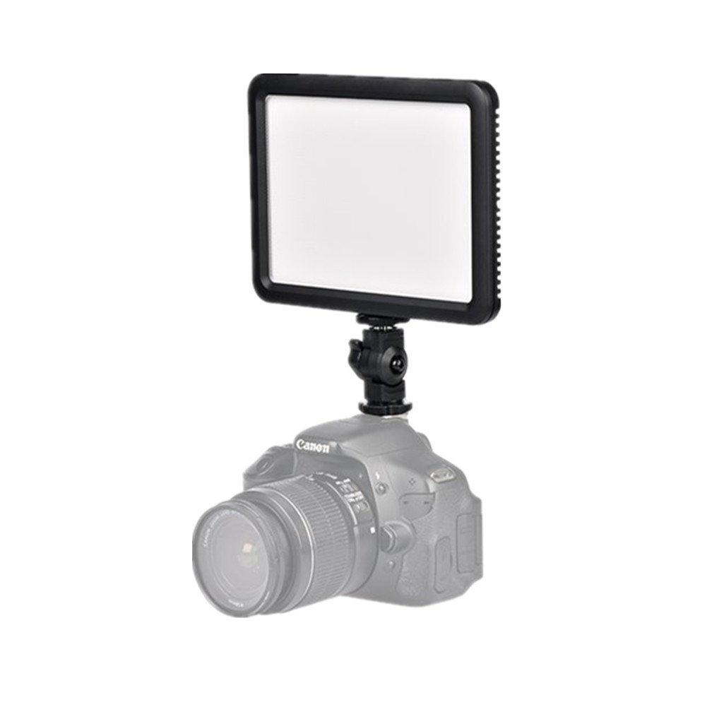 Godox LEDP120C CRI95 TLCI95 3300K~5600K Dimmable Ultra High Power LED Video Light Panel Compatible Canon Nikon Pentax Olympus Samsung Panasonic DSLR Cameras DV Camcorders Other Digital SLR