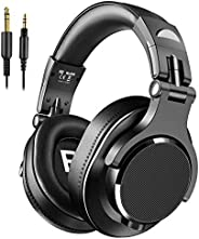 bopmen Over Ear Headphones - Wired Studio Headphones with Shareport, Foldable Headsets with Stereo Bass Sound
