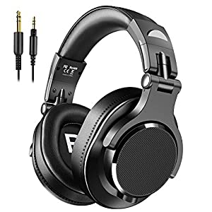 Bopmen Over Ear Headphones – Wired Studio Headphones with Shareport, Foldable Headsets with Stereo Bass Sound for…