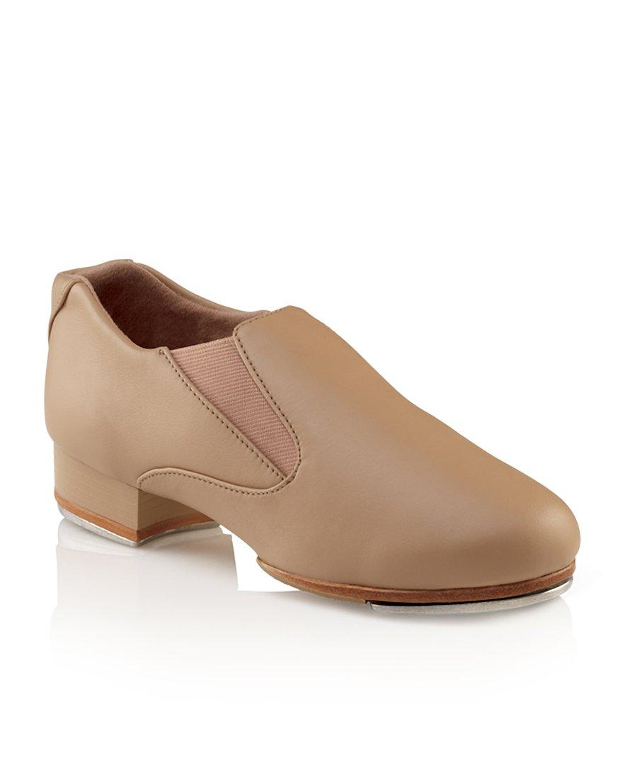 Capezio Women's CG18 Riff Slip-On Tap Shoe B008PBLQ6S 9M|Caramel