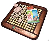 HealthyLine Far Infrared Heating Pad (Firm)|Natural Jade Healing Pad 20''X 20''| Heated Negative Ions|Relieve Muscles, Joints & Bones Pain |US FDA