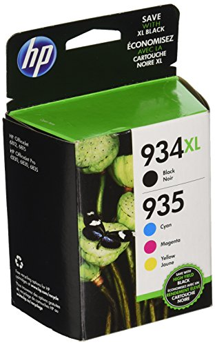 HP-934XL935-High-Yield-Black-and-Standard-CMY-Color-Ink-Cartridges-N9H66FN140-Combo-4Pack