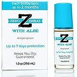 ZeroSweat Antiperspirant Deodorant w/Aloe | Clinical Strength Hyperhidrosis Treatment - Reduces Armpit Sweat for Sensitive Skin