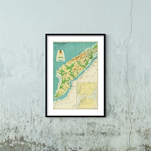 1915 Map Turkey|Çanakkale|Gelibolu Yarımadası The Daily Telegraph war no. 12 Daily Telegraph war|Vintage Fine Art Reproduction|Ready to Frame