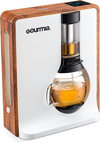 Gourmia GTC8000 Electric Square Tea Maker Loose Leaf Tea Infuser & Brewer With iTEA BOIL TO BREW TECHNOLOGY Includes 3 Brew Settings (Light, Medium & Strong) Great For White, Green, Oolong & Black Tea (Wholesale Loose Leaf Tea)