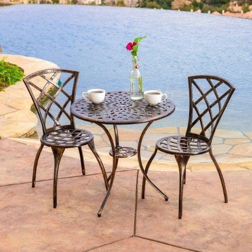 Glenbrook Bistro Set by Great Deal Furniture