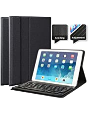 """feelkaeu iPad Air iPad Air 2 Pro9.7 Funda con Teclado Bluetooth, iPad Funda Protectora con Teclado Inalambrico QWERTY Español para Apple iPad Air 1, iPad Air 2, iPad Pro 9.7"""", iPad 2017"""