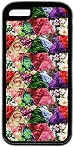 LJF phone case Triangle Floral Pattern Theme ipod touch 4 Case