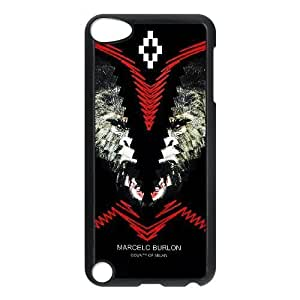 Custom made Case,Marcelo Burlon Cell Phone Case for iPod touch 5,Black Case With Screen Protector (Tempered Glass) Free S-7261021