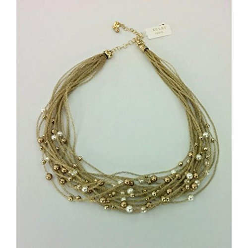 Collier Eclat Verve czpcl20/RH Argent Perles