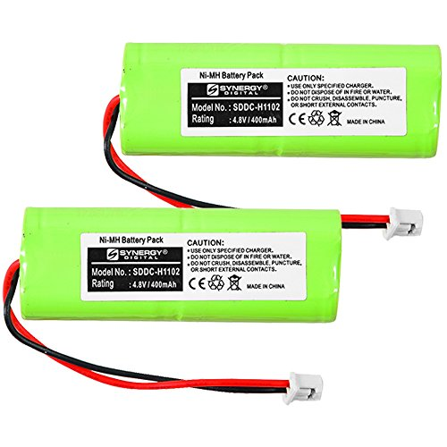 DT Systems H20-1810-PLUS Dog Collar Battery Combo-Pack Includes: 2 x SDDC-H1102 Batteries ()
