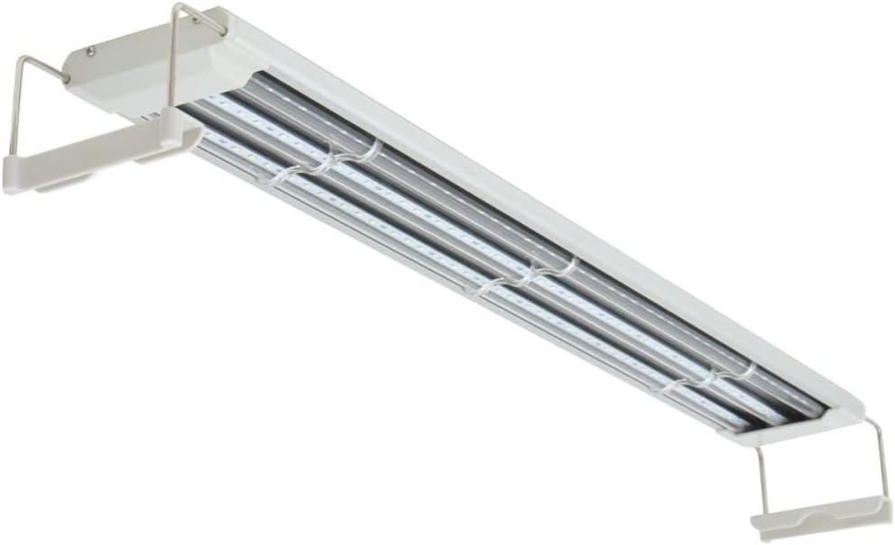 Festnight Lampada LED per Acquari//Luce LED Acquario 80-90 cm Alluminio IP67