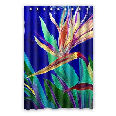Dalliy Pájaro del Paraíso disfraz cortina de la ducha Shower ...
