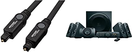 Logitech Z906 - Altavoces estéreo, sonido envolvente Dolby 5.1 3D ...